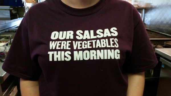 T-Shirt Vegetables
